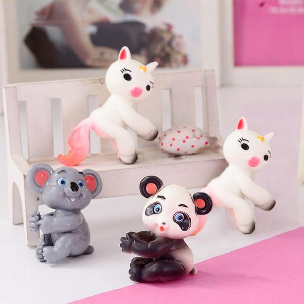 Kitchen Toys Dress Up & Pretend Play Cute Kongfu Panda Toy Mini Panda Puppet Home Decorations Kids Gift Pink