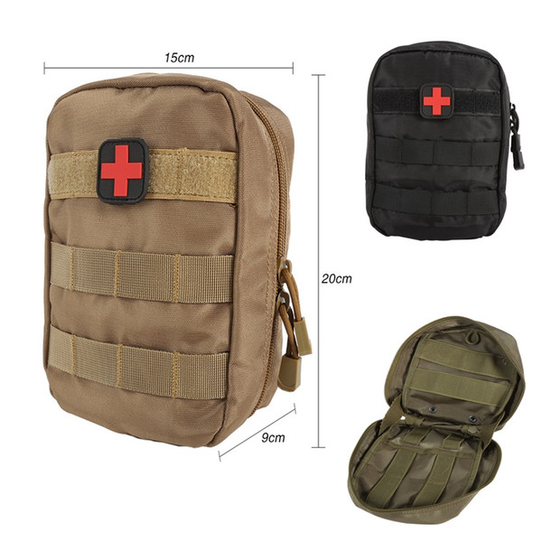 First Aid Bag Molle Medical EMT Cover Outdoor Emergency Military Program IFAK Backpack Outdoor Travel Hunting Utility Pouch #108988