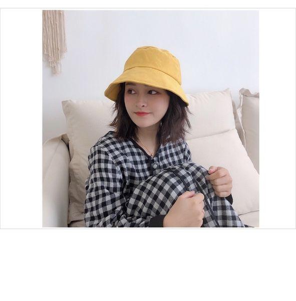 Literary Sweet Japanese Fisherman Hat Female Spring And Summer Korean Version Of Fine Corduroy Bow Basin Cap Student Visor