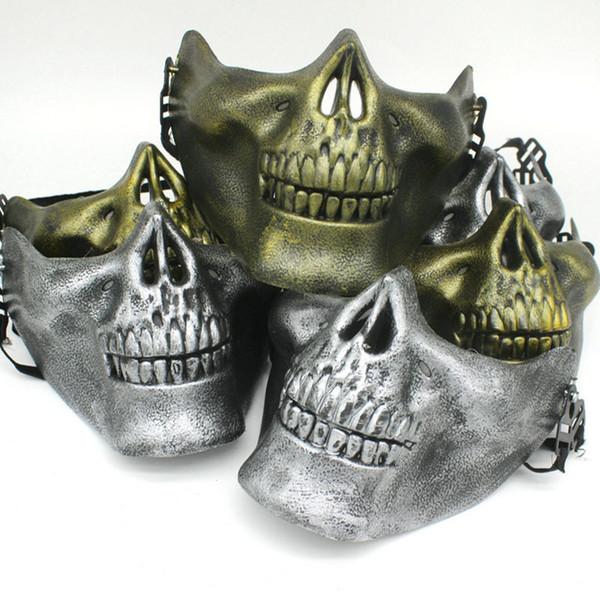 361e579f028d Halloween Dance Party Terrorist Masks Soldier Wargame Skeleton Skull Bone  Masks Warrior Full Face Protect Protector Mask Gift Masquerades Masks ...