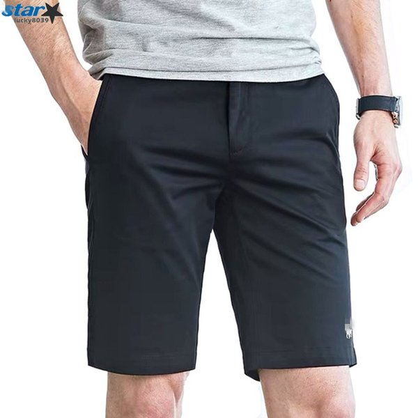 Paul Morgan's Polo shorts, men's quintuples, white casual overalls, summer trousers, men's loose beach trousers, large sizes of damp cotton,