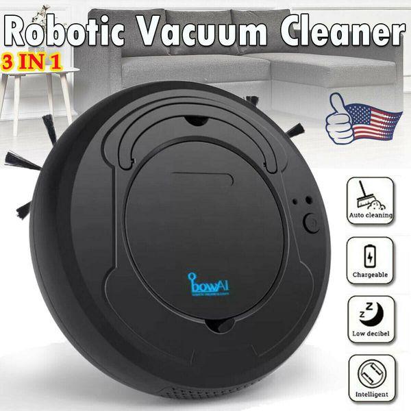 Robot sans fil Aspirateur Mop Pet cheveux multi nettoyage de la surface 3 IN 1