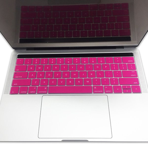 28.7cm x 10cm Silicone Keyboard Cover Protector Skin For Apple Macbook Pro MAC Air 11.6inch Soft Keyboard Stickers 8 Colors