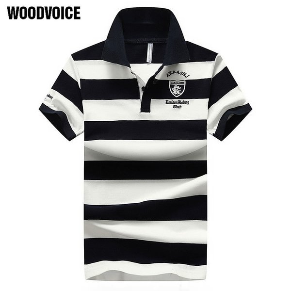 Mens For Desiger Men Cotton Short Sleeve Clothes Jerseys Slim Fit Turn Down Collar Polo Tee Shirt Male C19041501