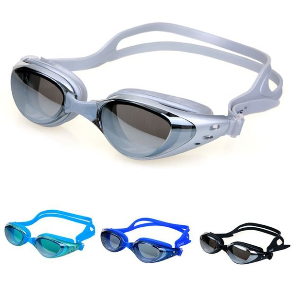 best selling 2019 Mirrored Swim Goggles Silicone Seal Swimming Goggles Diving Glasses UV Protection Anti-fog Anti-shatter Waterproof