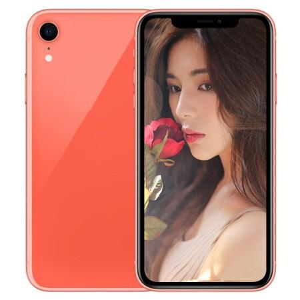 Red Goophone Xr Xs Max 6.5inch Full Screen Dual Sim MTK6592 Octa Core shown 4G LTE 4G RAM 128GB ROM Smartphones