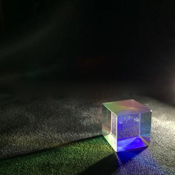 Glow feste Laser Beam Combine Cubo Prisma Specchio per 405nm ~ 450nm Blu moduli a diodo laser giocattolo