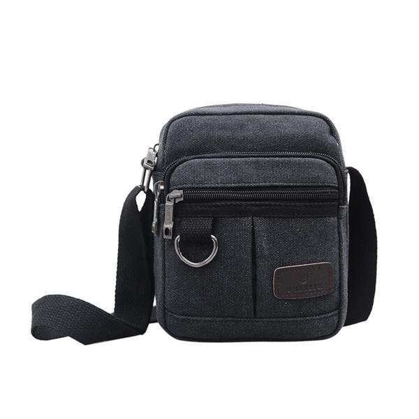 Laamei New Men Malas de Viagem Legal Canvas Pacote Homens Moda Mensageiro Bolsas de ombro quadrado bolsas para Crossbody