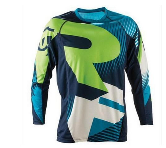 Good quality breathe freely Motorcycle Clothing Bike Bicycle Jersey Outdoor Sports Downhill Jerseys long sleeve free shipping
