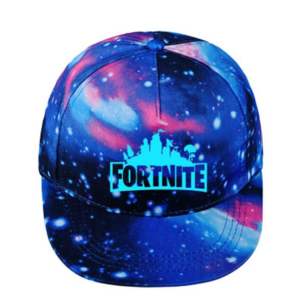 best selling Luminous Caps Teenager Baseball Cap with Blue 2018 Summer Sunhat Night Lights Young Age Group Hip Hop Snapback Hats BTS