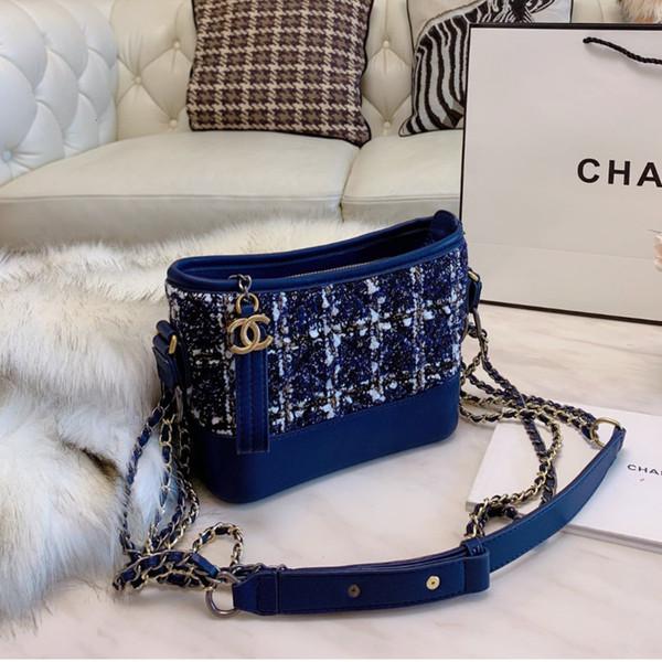 Frauentasche neue Handtasche Größe 20 * 15cm Geschenk-Box # 1111195 wzk524