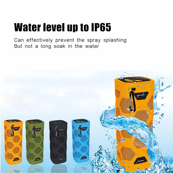 5w x 2 bluetooth speaker NFC Portable Outdoor Waterproof Bluetooth Speaker 10W Super Bass Music Player with Microphone Power Bank speaker