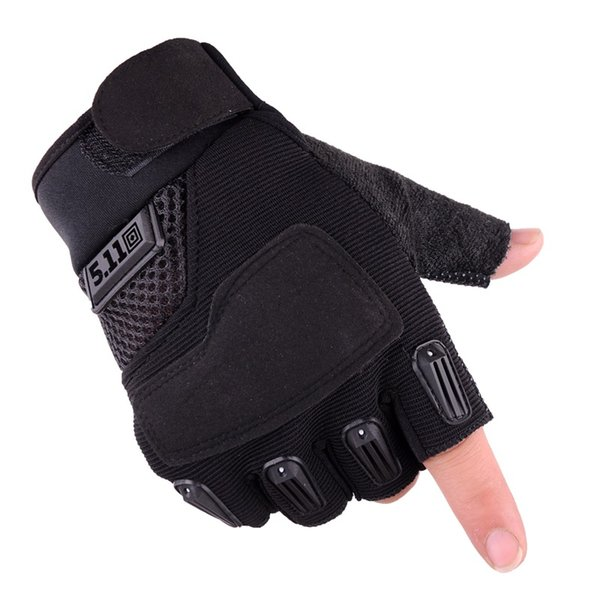2pcs Outdoor Camping hunting army Tactical Gloves Sports Training Gloves Hiking cycling half Finger Gloves