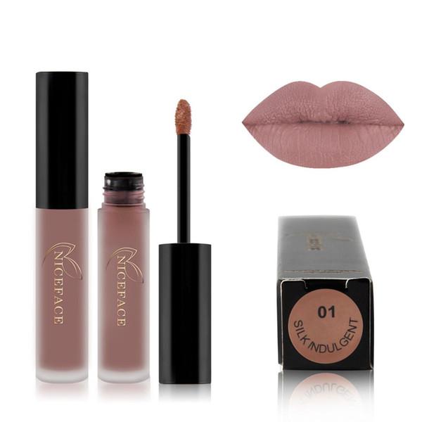 Matte Sexy Liquid Lip Gloss Lipsick Long Lasting Waterproof Cosmetic Beauty Makeup Non-Stick Cup Does Not Fade Liquid Lipstick