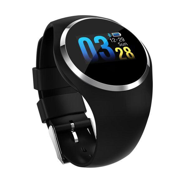 Bluetooth Smart Watch Blood Pressure Heart Rate Monitor Stainless Steel Waterproof Smartwatch Bracelet for Xiaomi Huawei iPhone