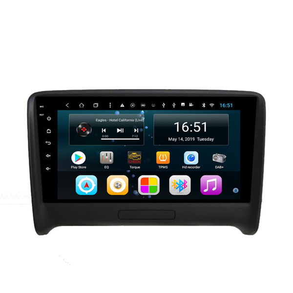 android 9inch 8-core for audi tt car excellent bluetoooth fast delivery mp3 mp4 music player wifi pricise gps navigation head unit