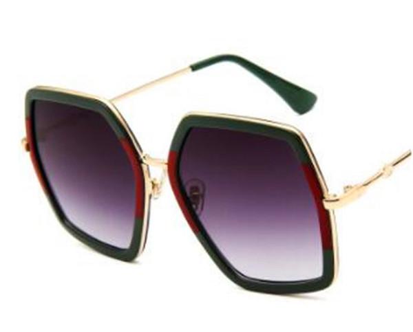 Высокое качество поляризованные солнцезащитные очки Солнцезащитные очки женская квадратная рама полная рама верхняя структура мода диск покрытием зеркало матч