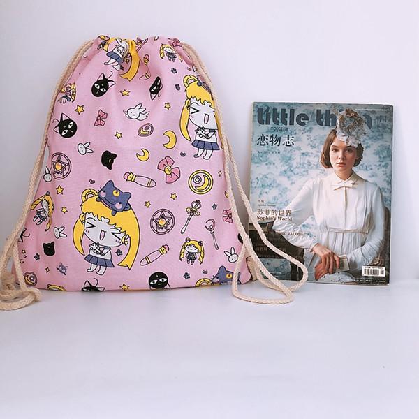 sailor moon sac à dos sac à bandoulière sac à bandoulière sac de rangement unisexe sacs de voyage sacs à dos sacs d'école enfants adultes