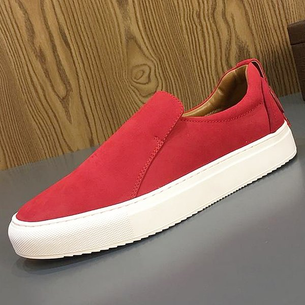 19 years of classic American luxury new leather men's casual shoes, flat soft leather designer men's outdoor driving flat shoes qh