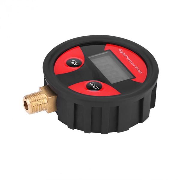 0-200PSI Digital LCD neumático neumático medidor de presión de aire medidor para coche camión motocicleta vehículo probador sistema de monitoreo