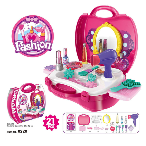 BOHS Kitchen Dresser Suit Toolbox Medical Kit Multi Options Children Pretend Play Toy