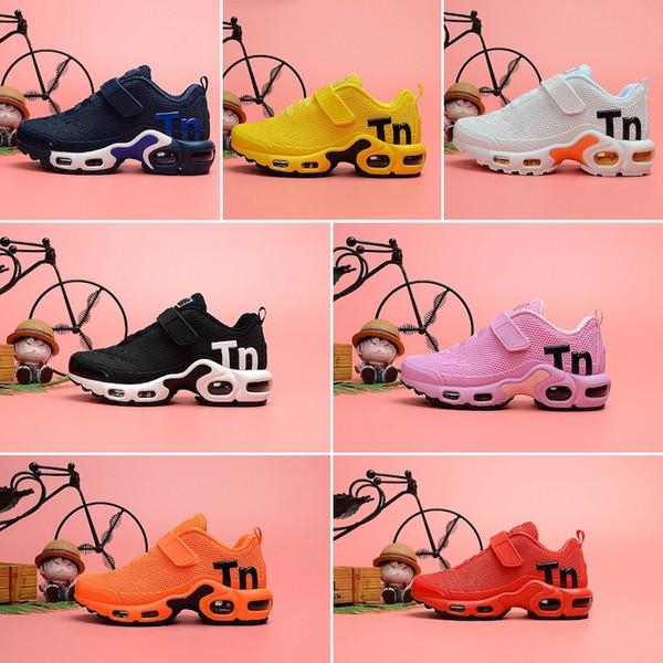 Nike Air TN Plus Vendita calda Nuovo Plus Tn Bambini Genitori Bambino Casual Per Baby Boy Girl Fashion Designer Sneakers Bianco Running Scarpe da ginnastica all'aperto