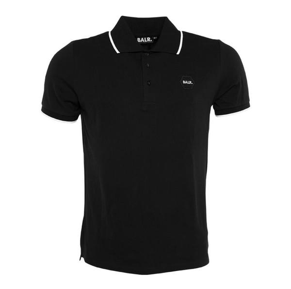 Men tshirt polo embroidered shirt men short sleeve mens polo classic brand 2019 compression designer white t shirt summer business tshirt