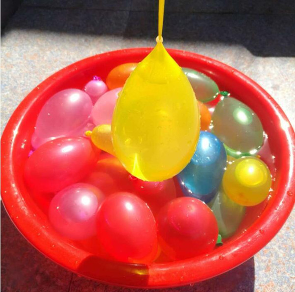 Wasserballon Spielzeug erstaunliche magische Wasserballons Bomben Spielzeug für Kinder Kinder Sommer im Freien Strand Wasser Sprinking Ballons Spiele