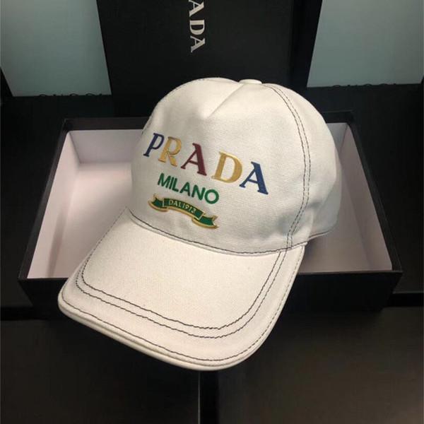 Moda Tasarım Unisex Kapaklar Marka Topu Şapka Mens ve Womens Nakış Golf Kap Gorras Casquette Kemik De Beisebol Kutusu ile