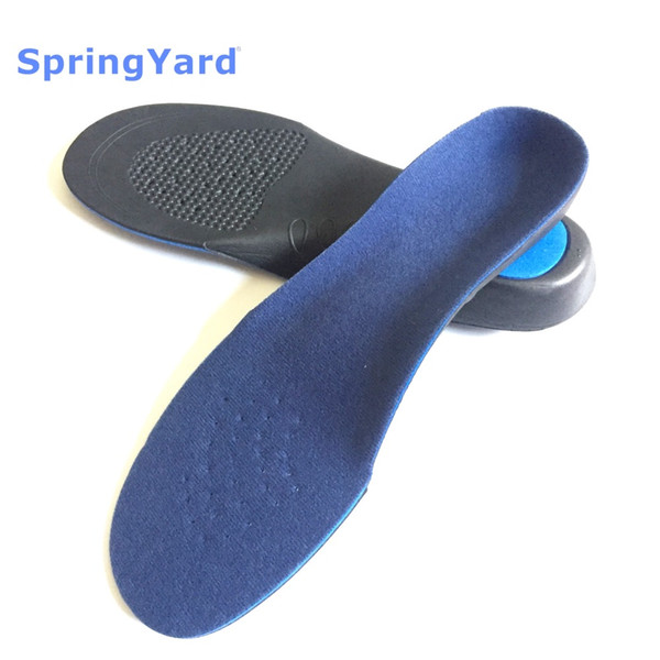 SpringYard (2 çift / grup) EVA Yetişkin Düz Ayak Düzeltici Arch Destek Ortez Ortopedik Tabanlık Ayakkabı Erkekler Kadınlar için Ayak Bakımı