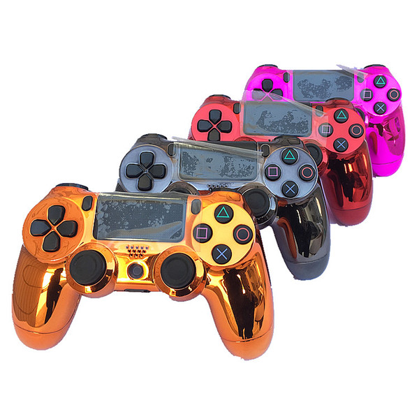 top popular chrome PS4 Wireless Controller for PS4 Vibration Joystick Gamepad PS4 Game Controller for Sony PlayStation 4 controller With retail box 2019