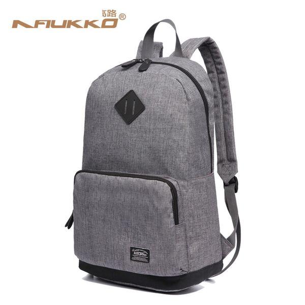 Kaukko Men School Bags Backpack Student Bag College High School Bags For Teenagers Canvas Travel Bag Laptop Backpack
