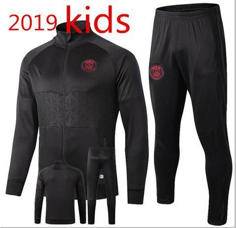 Grosshandel Kinder 18 19 Cham Psg League Von Jordam Jacke Trainingsanzug Survetement 2019 Jordam X Psg Mbappe Fussball Kinder Fussball Jacken Joggen