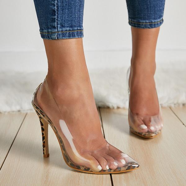 Avrupa istasyonu yıldız para euramerican para seksilik temyiz şeffaf sivri garip ayakkabı ile ultra uzun 42 boyutları T621