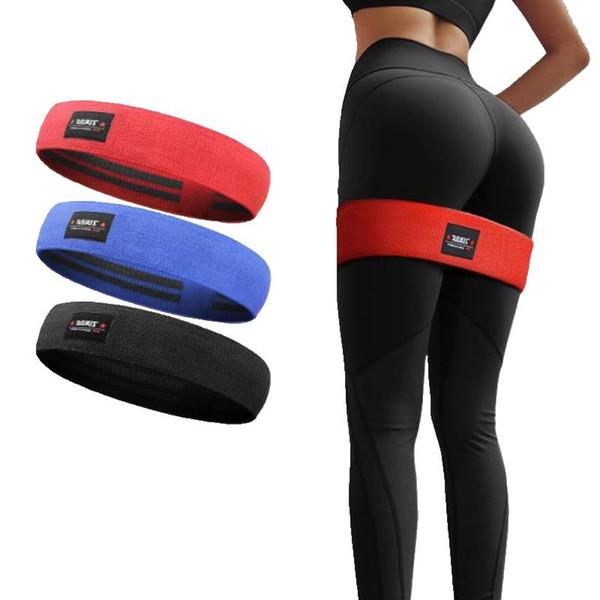AOLIKES Grenzüberschreitender spezieller Widerstand gegen den Hüftring Latex-Slip elastischer Hüftkreis-Fitness-Squat-Widerstandskreis-Yoga-Stretchgürtel