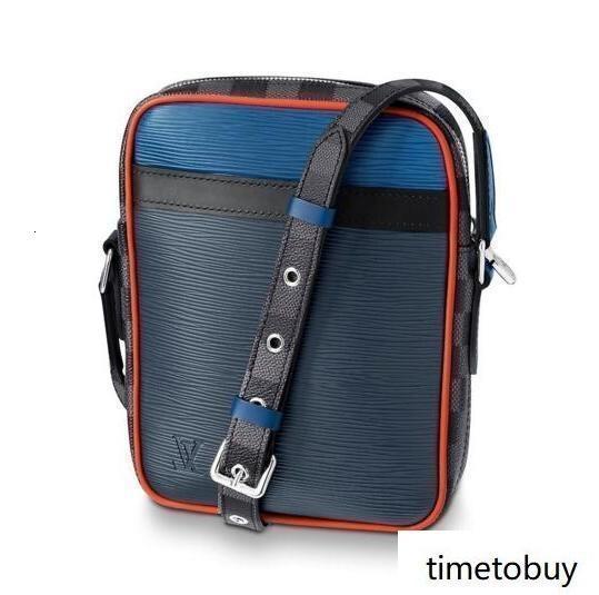 2019 Danubio delgado M51460 Hombres bolsos del mensajero del hombro la correa del bolso de totalizadores de la cartera carteras del equipaje de la lona
