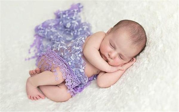 Bonito ponto de impressão wrapping Lace Cobertor para o Bebê foto recém nascido fotográfico adereços venda quente em europeus e americanos