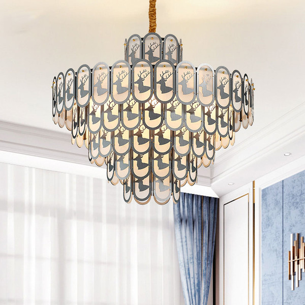 Modern Christmas Decorations Crystal Gold Small Round Chandelier Lighting  For Dining Room Bedroom Chandeliers Light Fixtures Coloured Glass Pendant  ...