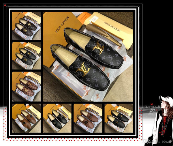 2020 Hot Men's Fashion Dress shoes Men Party Wedding Business PU leather Flats Side Lace-up Casual pointed shoes