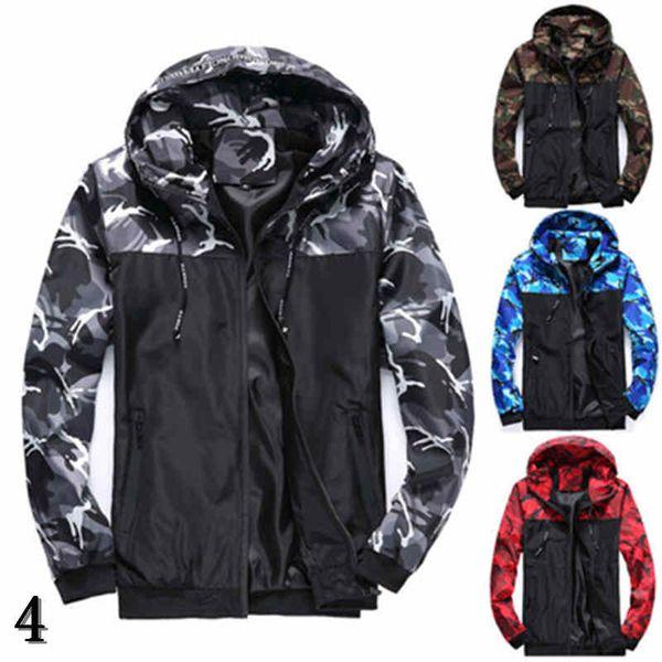 Homens Designer Casacos com capuz Moda Estilo Windbreaker Magro para mulheres dos homens revestimento listrado Tops Zippers Marca Jackets Coats Luxo Hoodies # 4
