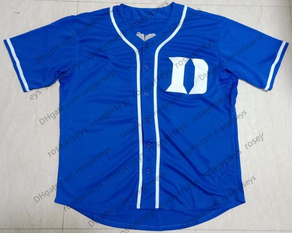 Blue with D logo