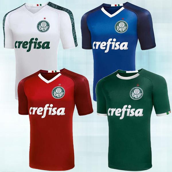 19/20 Palmeiras SOCCER JERSEY 7 DUDU Trikots 10 MOISES 9 BORJA Soccer Shirt Thailands hochwertige anpassbare Palmeiras