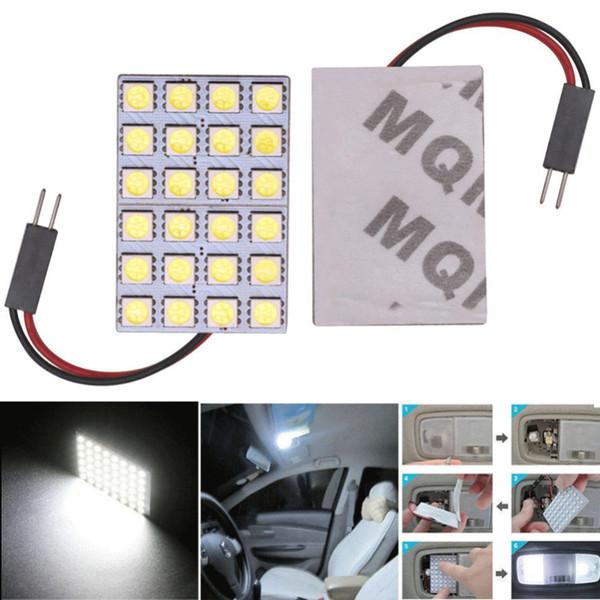 Светодиодные панели T10 Свет адаптер фестона Разъем автомобиля Межкомнатные 12V