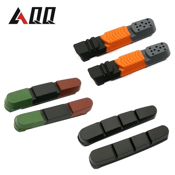 1 Pair Road Bike Brake Pads Shoes for Alloy Rims Dura Ace Ultegra 105 Cartridge Durable Bicycle Brake Pads Shoes Tools