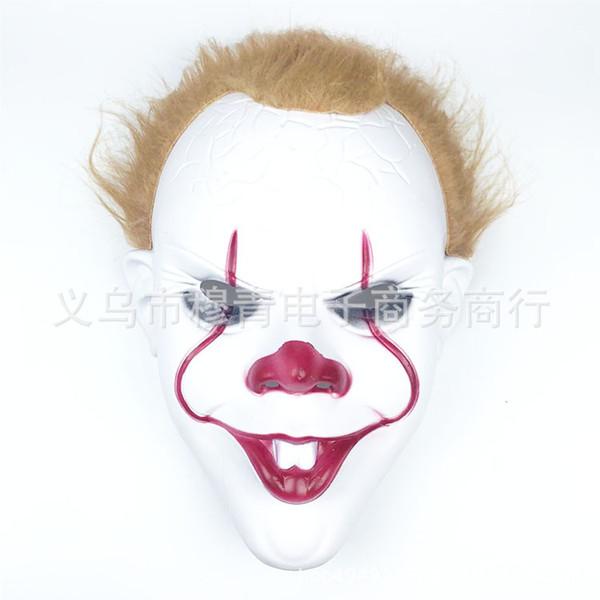 Parrucca maschera pagliaccio