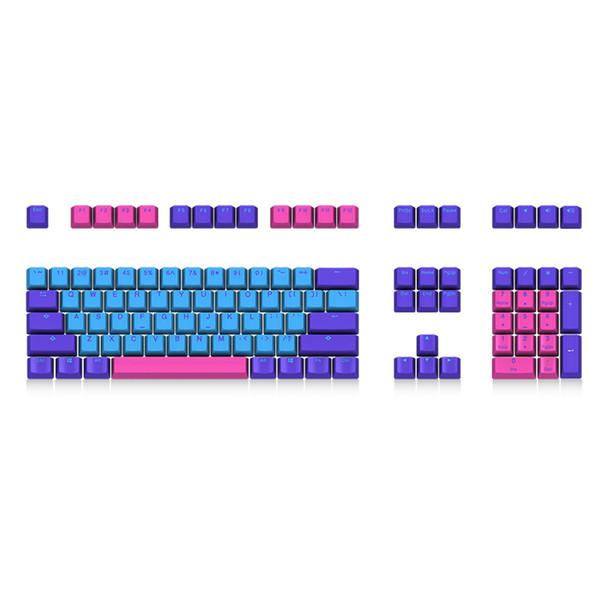 Keycap tastiera meccanica Akko X Ducky Joker 108 Key Profilo OEM PBT Keycap Keycaps Set per tastiera meccanica