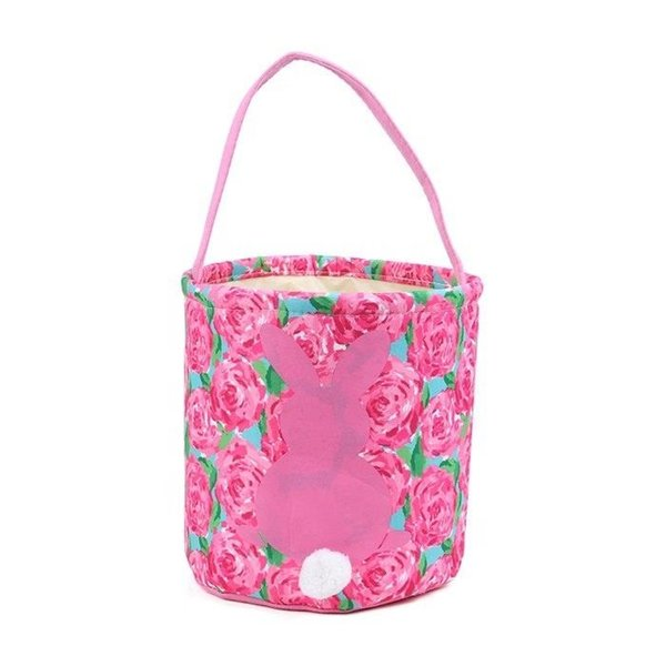 2019 Hot Sale Lily Easter Bucket Good Quality Easter Bunny Basket Tote Bags Kids Ester Gift Bucket Candy Tote Bags From Viola, $4.38 | DHgate.Com