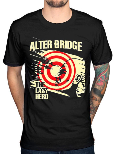 Official Alter Bridge The Last Hero Unisex T-shirt Rock Band Vintage Fortress Mu Print T Shirt Men Summer Style Fashion Top Tee