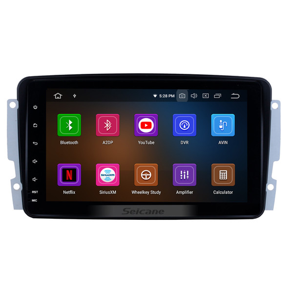 Android 9.0 8 inch Car GPS Navigation Radio for 1998-2002 Mercedes-Benz E-W210 with WIFI USB Bluetooth support Rearview Camera Car dvd 1080P