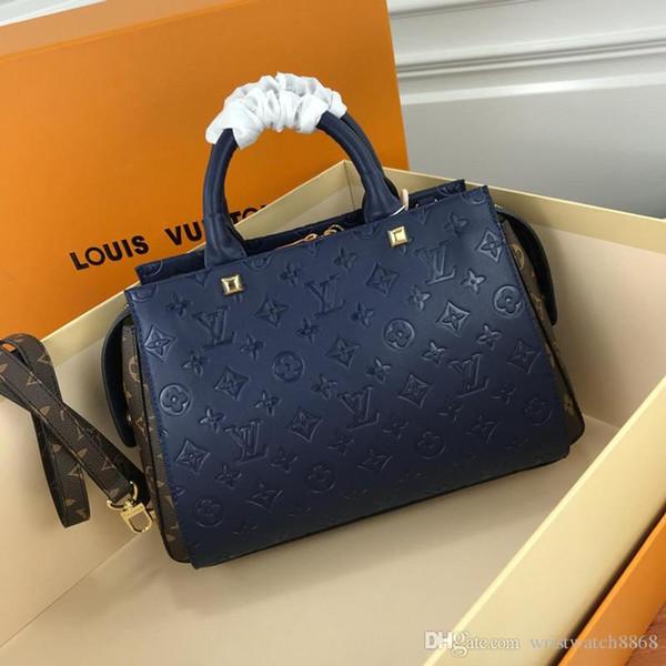 Новейшие дизайнерские роскошные сумки кошельки Модные женские дизайнерские сумки через плечо Высококачественная брендовая сумка через плечо сумка 41488 ro